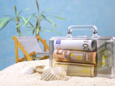 Ein Koffer voll Geld