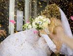 Konfetti Hochzeit - zu viel des Guten