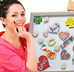 Magnetwand Hochzeitsspiel mit allen Gästen
