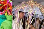 Regenschirmtanz Hochzeitsspiel