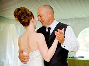 Tanz während der Hochzeit