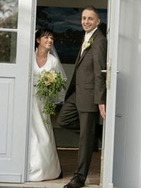 Streiche in der Wohnung des Brautpaares